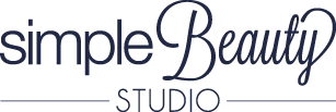 simple beauty studio logo